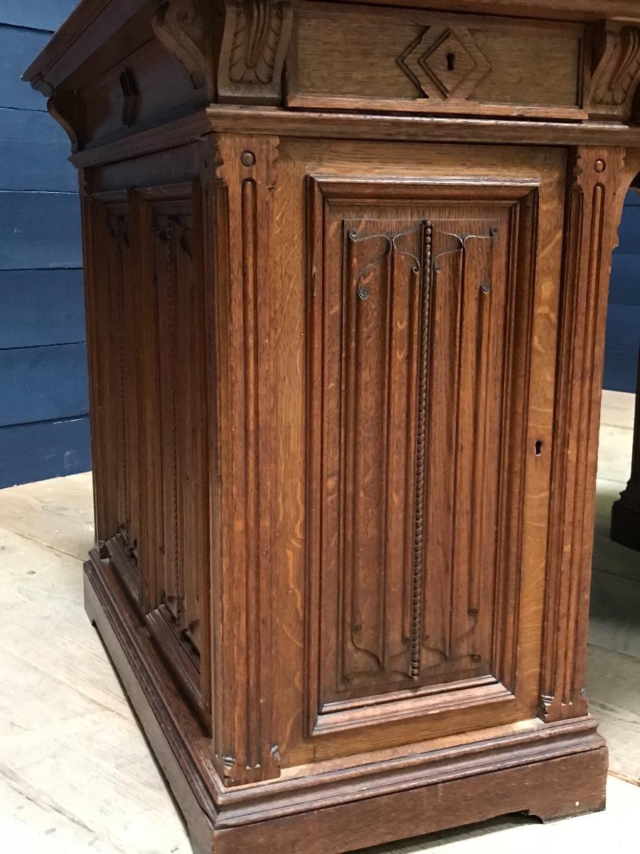 - Antique Gothic Desk - Gothic - Antiques & Furniture