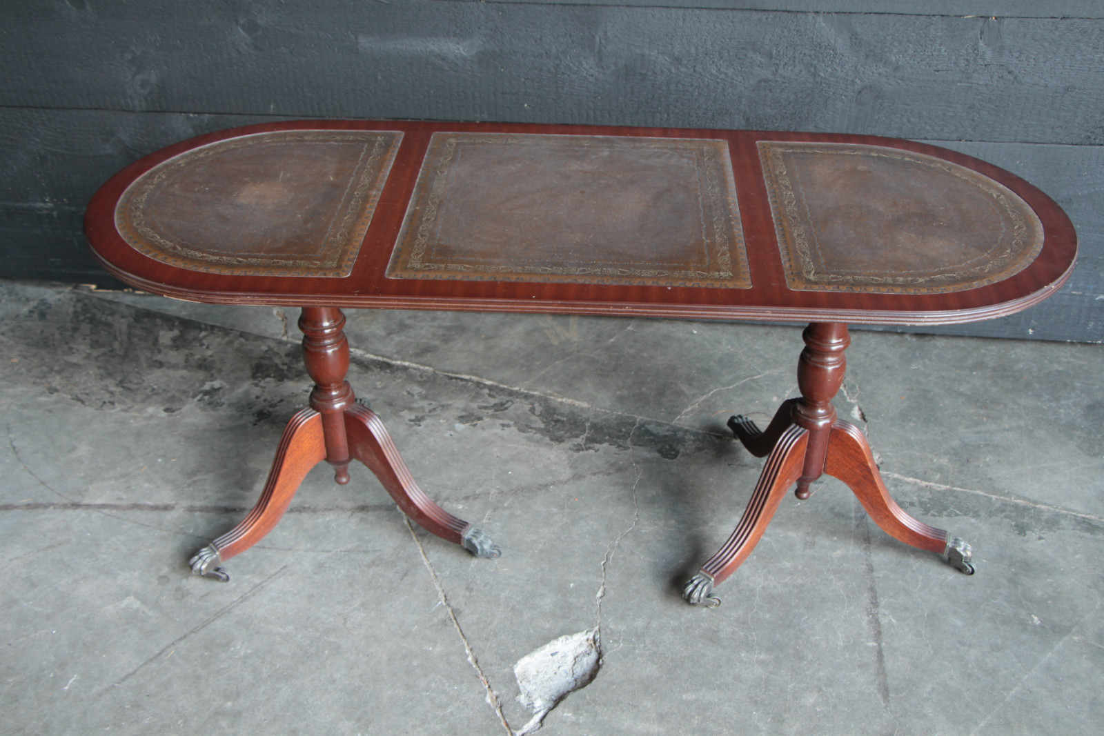 antiques furnitures import export antique leather top coffee