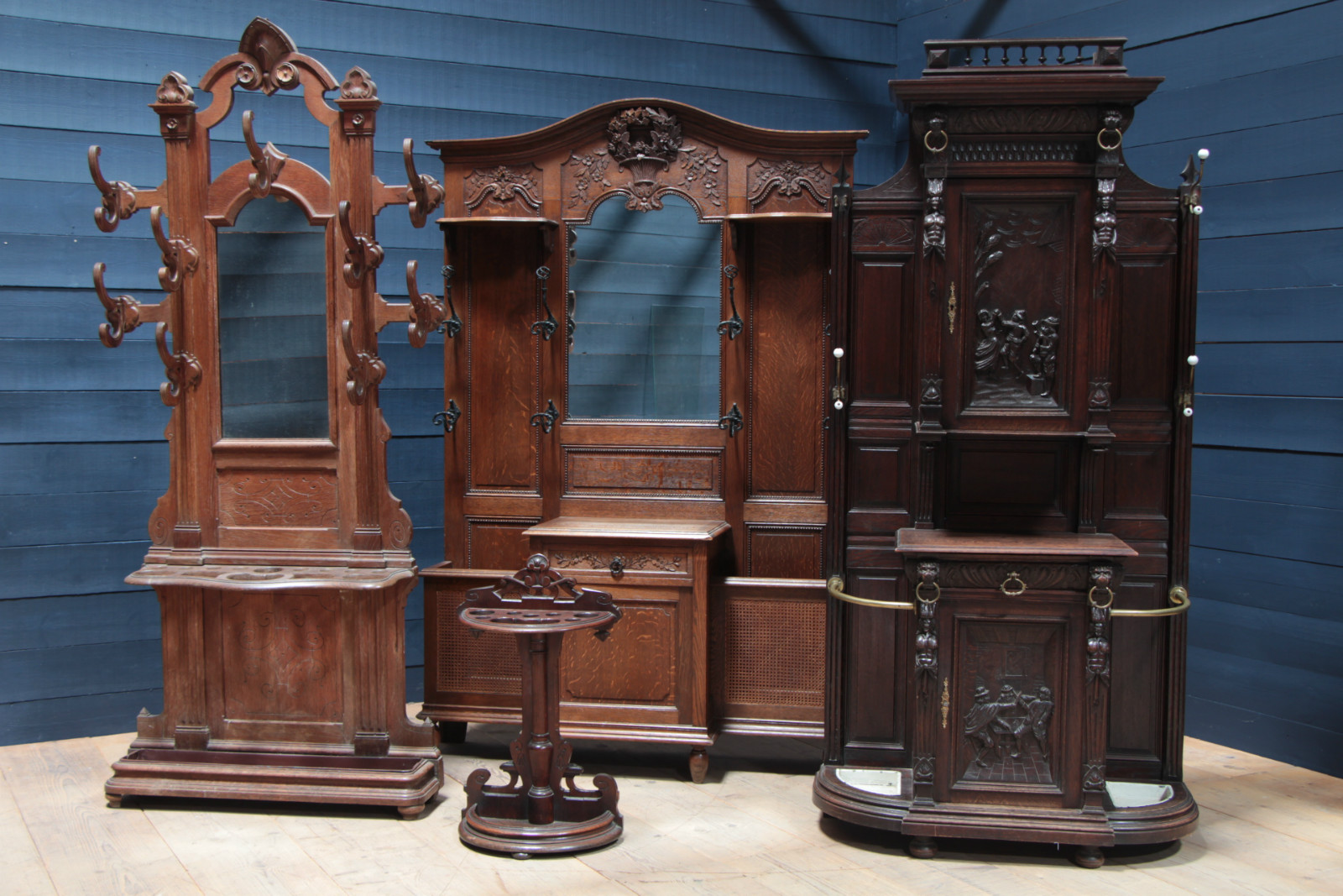 Hall Trees Antiques Furnitures Recent Added Items European