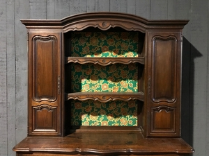 Louis XV style Antique cupboard in oak, France 1930