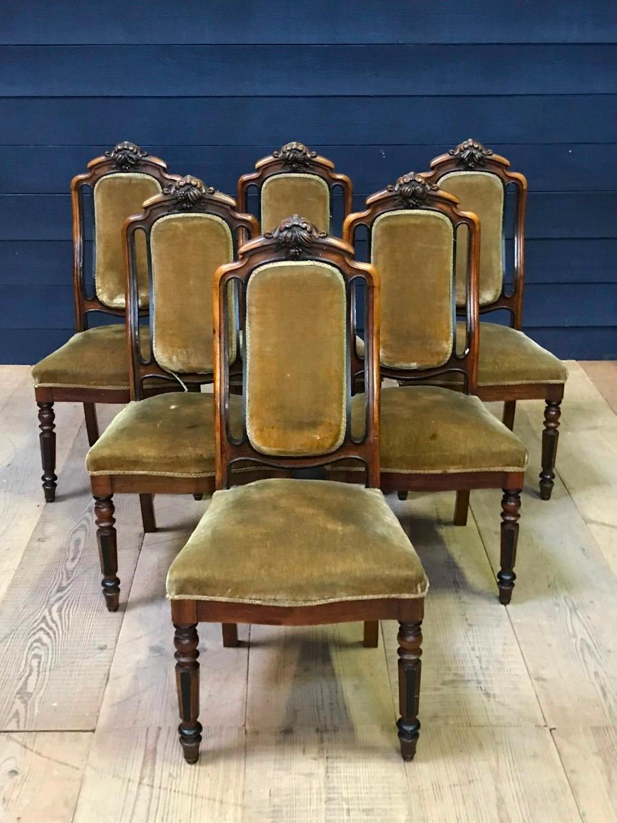 Louis Philippe Dining Chairs